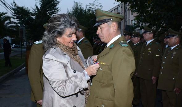 En su 88° aniversario alcaldesa Virginia Reginato, saludó a Carabineros  de Chile