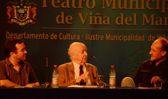 Con conferencia del escritor Jorge Edwards, Municipalidad de Viña del Mar celebró el Día Internacional del Libro