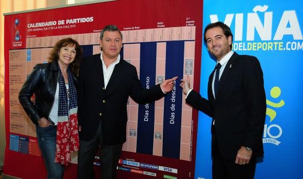 En Viña del Mar se jugará la  final del Mundial Sub-17, lo que fue valorado por alcaldesa Virginia Reginato