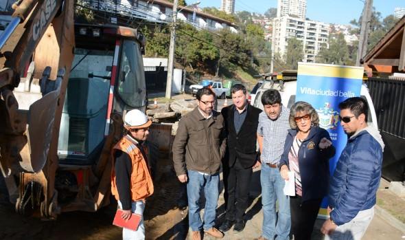 Municipio  de Viña del Mar invierte $77 millones en reparar nuevas calles de la ciudad