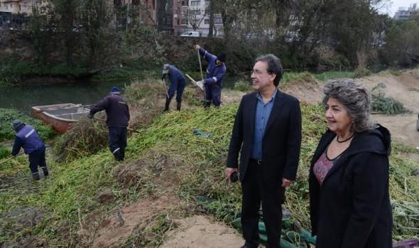 Municipio de Viña del Mar ejecutará estricta fiscalización en estero Marga Marga