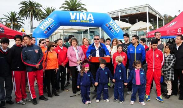 Debutan las corridas familiares  2015, organizadas por la Municipalidad de Viña del Mar