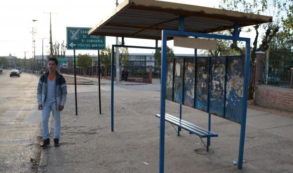 Municipio de Viña del Mar instalará 10 refugios peatonales nuevos en Miraflores Alto