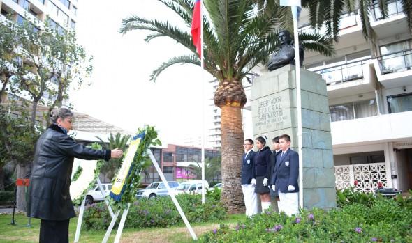 Conmemoración de Aniversario 205 de la República de Argentina encabezó alcaldesa Virginia Reginato