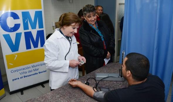 Más de 3.000 trabajadores son beneficiados con exámenes preventivos realizados por la Corporación Municipal de Viña del Mar