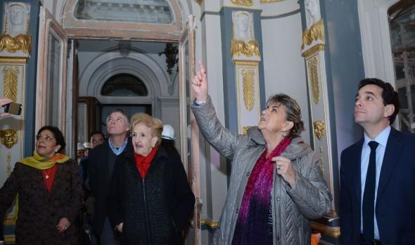 En octubre terminará la restauración del Palacio Rioja informó alcaldesa Virginia Reginato