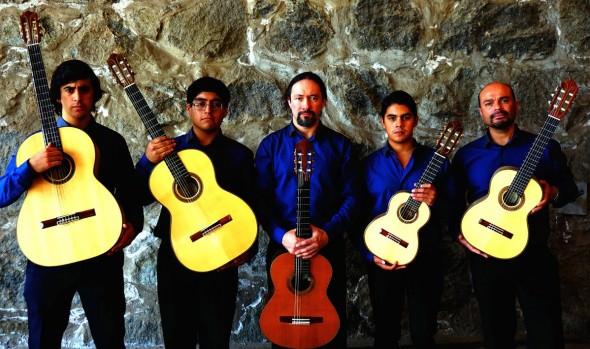 Municipalidad de Viña del Mar invita a concierto de Consort Guitarrístico de Chile en Foyer del Teatro Municipal