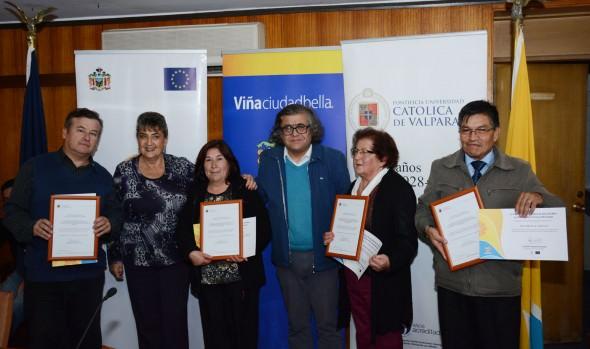 Viñamarinos recibieron certificación de alcaldesa Virginia Reginato por  capacitación para reaccionar correctamente ante riesgos naturales