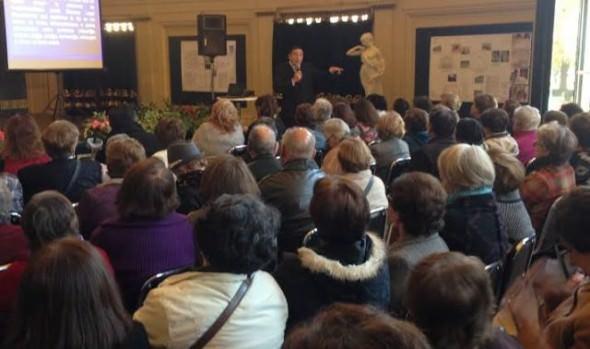Con gran participación de asistentes, Muncipalidad de Viña del Mar,  realizó taller para prevenir el maltrato en adultos mayores