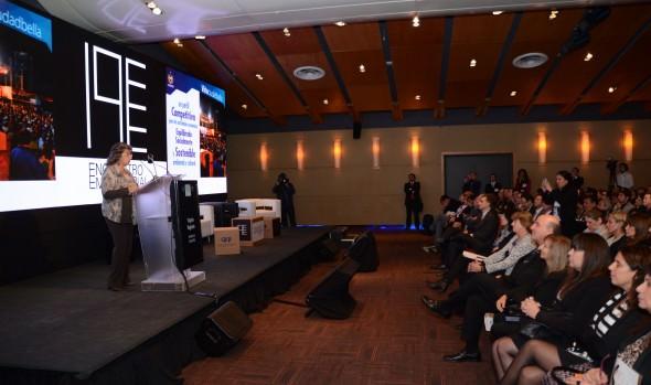 Los atributos turísticos de Viña del Mar destacó alcaldesa Virginia Reginato encuentro empresarial