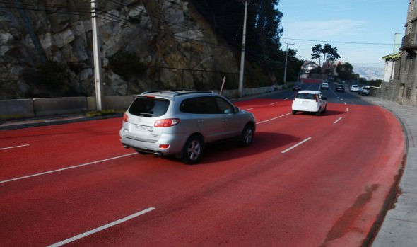 Municipio de Viña del Mar finaliza obras de mejoramiento de seguridad vial en la Avenida Borgoño