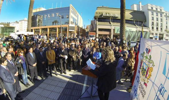 Plazas Sucre y Parroquia fueron inauguradas por alcaldesa Virginia Reginato