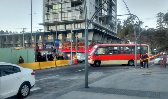 Municipio de Viña del Mar realiza positiva evaluación de apertura de tránsito en calle Sucre