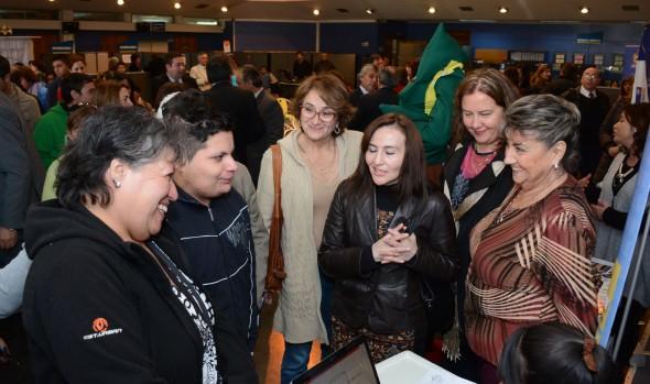 Una invitación a inscribirse en cursos de capacitación laboral realizó alcaldesa Virginia Reginato