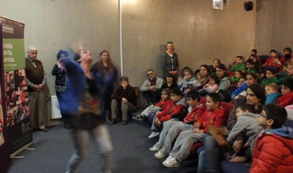 Niños y personas con capacidades diferentes vieron primera presentación de Escuela de Cuenta Cuentos impulsada por alcaldesa Virginia Reginato