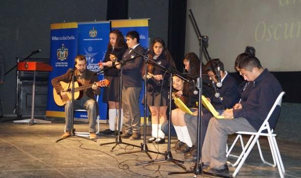 """Niños y adultos con capacidades especiales se lucieron en la gala artística  """"Grandes Talentos"""" organizada por el Municipio de Viña del Mar"""
