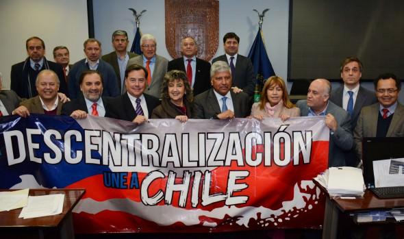 Solicitud por descentralización a Presidenta de la República se sumó alcaldesa Virginia Reginato