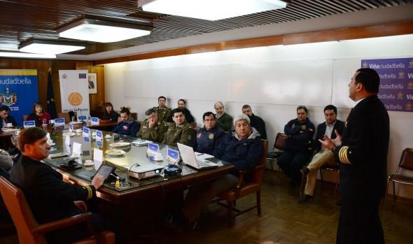 Modelo en gestión de riesgos frente a emergencias aplicado por  Municipalidad de Viña del Mar podría ser replicado  en la provincia
