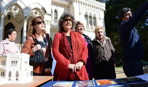 Alcaldesa Virginia Reginato se refiere a la recuperación del patrimonio de la ciudad
