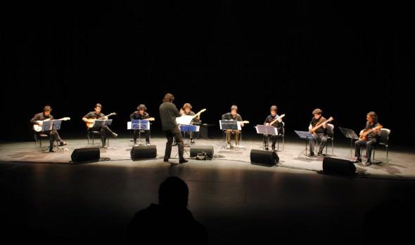 """Municipalidad de Viña del Mar invita a concierto de Ensamble de Guitarras Eléctricas """"Planeta Minimal"""""""