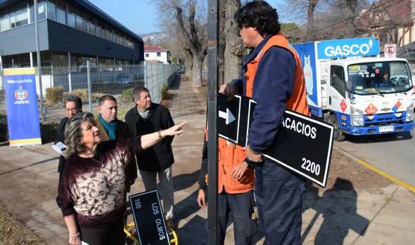 Millonaria inversión en reposición de señales de tránsito efectúa Municipio de Viña del Mar