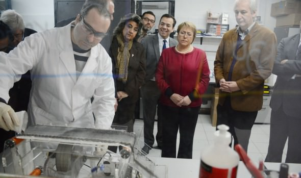Alcaldesa Virginia Reginato  destacó revolucionario proceso de purificación de agua que se desarrolla en Viña del Mar