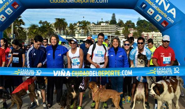 Alcaldesa Virginia Reginato destaca actividades deportivas también en invierno