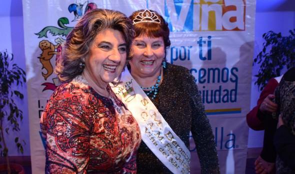 Veinte candidatas a Reina del Adulto Mayor de Viña del Mar 2015 fueron presentadas por alcaldesa Virginia Reginato