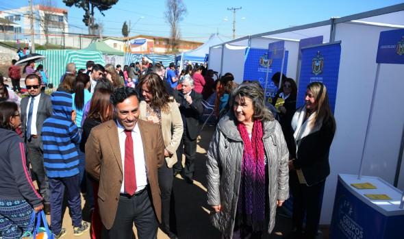 Más de 20 servicios públicos, en conjunto con la Municipalidad de  Viña del Mar, atendieron a vecinos del sector alto de Forestal