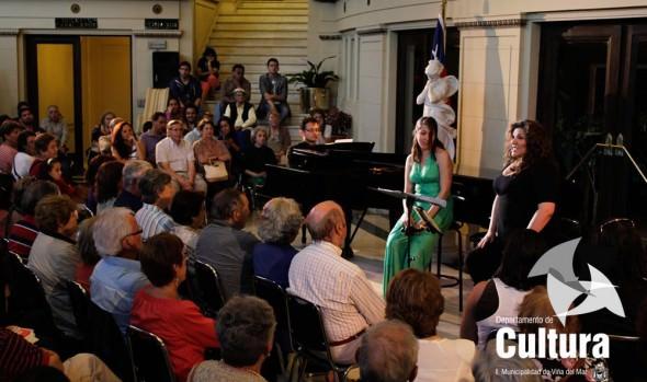 """Municipalidad de Viña del Mar invita a """"Spirituals concierto"""" en el foyer del Teatro Municipal de Viña del Mar"""