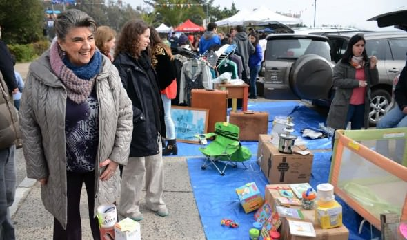 Municipio de Viña del Mar apoyó novedosa feria de junta de vecinos de Jardín del Mar