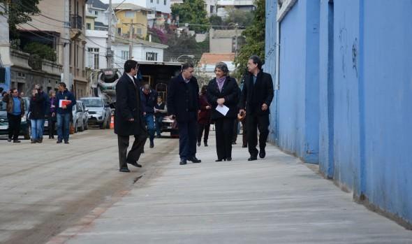 Municipio de Viña del Mar potencia obras viales con plan de reparación de aceras
