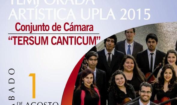 Municipalidad de Viña del Mar invita a concierto de Tersus Canticum en Foyer del Teatro Municipal