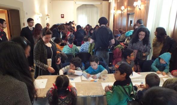 379 personas participaron en talleres de patrimonio preparados por el Municipio en el Castillo Wulff en vacaciones de invierno