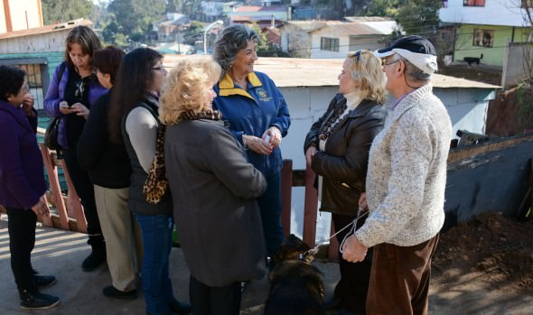 En operativo social de Municipio en tu Barrio en Forestal, participó alcaldesa Virginia Reginato