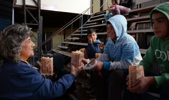 Municipalidad de Viña del Mar realizó nueva jornada de programa Cine en tu Barrio