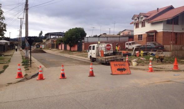 Municipio de Viña del Mar realiza mejoramiento en diversas calles de Reñaca Alto