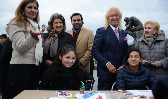 Obra El Pensador se ha convertido en epicentro  de activdades culturales y eduacionales de la Muncipalidad de Viña del Mar
