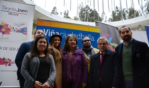 Concierto gratuito en la Quinta Vergara para celebrar el mes de la juventud anunció alcaldesa Virginia Reginato e INJUV