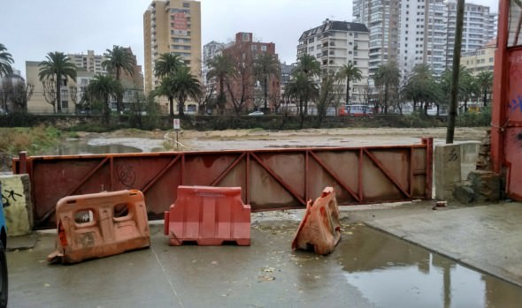 Municipio de Viña del Mar aplica plan de contingencia por sistema frontal