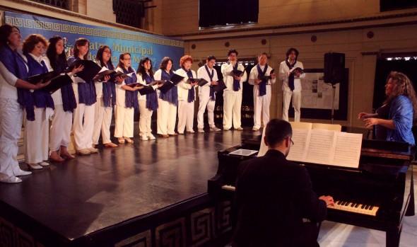 Primer coro comunal de Viña del Mar  realizó  presentación oficial