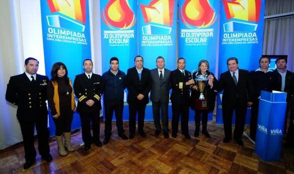 XI Olimpiada Escolar y VI Olimpiada Interempresas y Servicios Públicos de Viña del Mar se inician a fin de mes