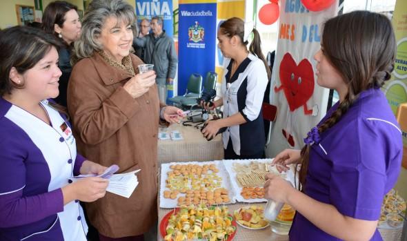 CESFAM de Viña del Mar fomentan la prevención de enfermedades cardiovasculares