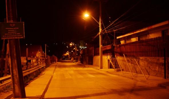 Municipio de Viña del Mar mejoró iluminación de Glorias Navales  y Expresos Viña