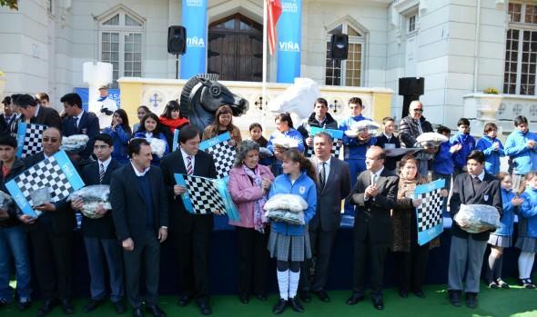 Profesores fueron certificados para aplicar ajedrez en  alumnos de escuelas municipales de Viña del Mar
