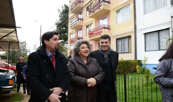 Más de 250 familias viñamarinas son beneficiadas con mejoramiento de condominio social