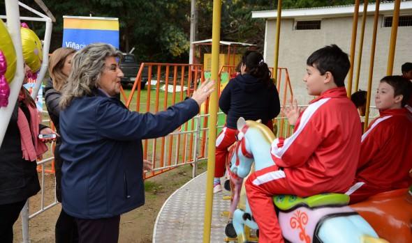 Municipalidad de Viña del Mar prepara un gran parque de entretenciones para celebrar el Día del niño