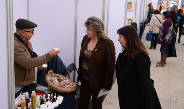 """Feria """"Viña te invita""""  fue visitada por alcaldesa Virginia Reginato y directora de Sernatur"""