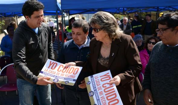 Nuevas alarmas comunitarias en Santa Julia fueron inauguradas por la alcaldesa Virginia Reginato