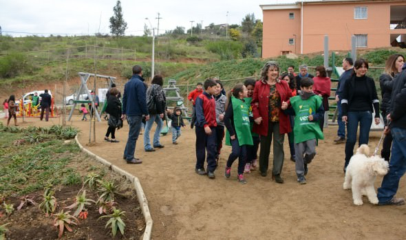 El Olivar cuenta con nueva plaza y juegos infantiles entregados por el municipio de Viña del Mar
